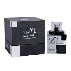 24CRAT WHITE GOLD قيراط